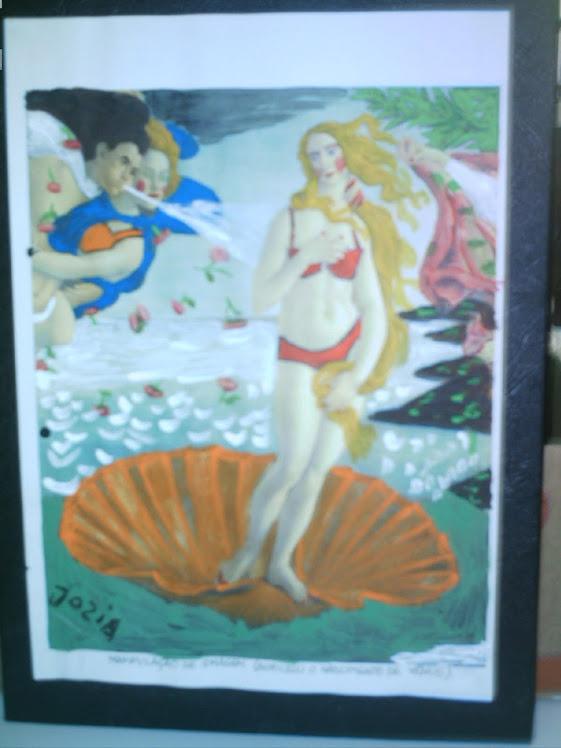 Nascimento de Venus,manipulação de imagem