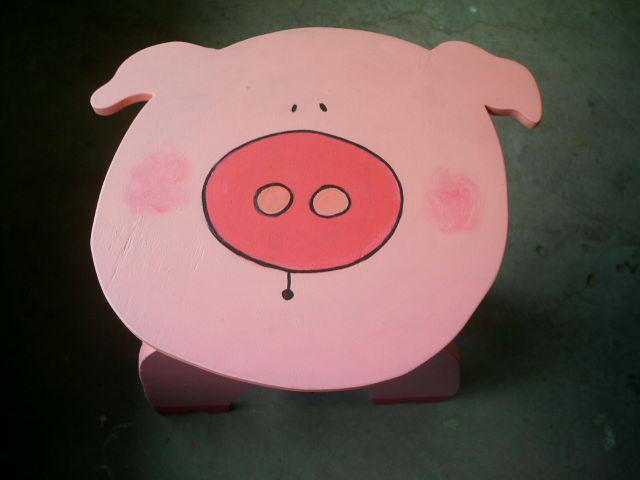 Pig  Banco,trabalho do paciente