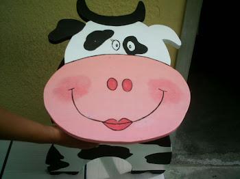 Vaca,banco,trabalho do paciente