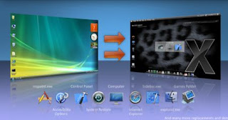 Download Leopard Transformation Pack 2 to Transform Vista To Mac OS X
