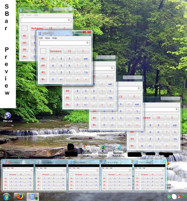 How to Get Windows 7 like taskbar in Windows XP & Vista