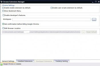 Extensions or Plugin  Manager For Google Chrome