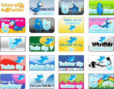 31 twitter icons, 400+ Beautiful Twitter Icons for your Website