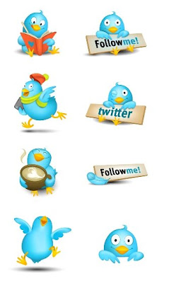twitter icons by smashing magazine 400+ Beautiful Twitter Icons for your Website