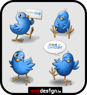 twitter icons web design fm 400+ Beautiful Twitter Icons for your Website