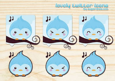 lovely twitter icons 400+ Beautiful Twitter Icons for your Website