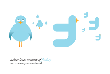 twitter icons by james, 400+ Beautiful Twitter Icons for your Website