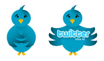 twitter bird preview1 400+ Beautiful Twitter Icons for your Website