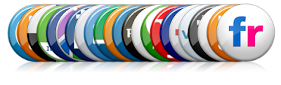 Badges social bookmarking icons