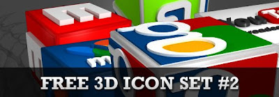 3d icon social bookmarking icon set2 post header, 75 Beautiful Free Social Bookmarking Icon Sets