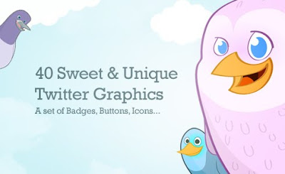 40 Cute Twitter Icons
