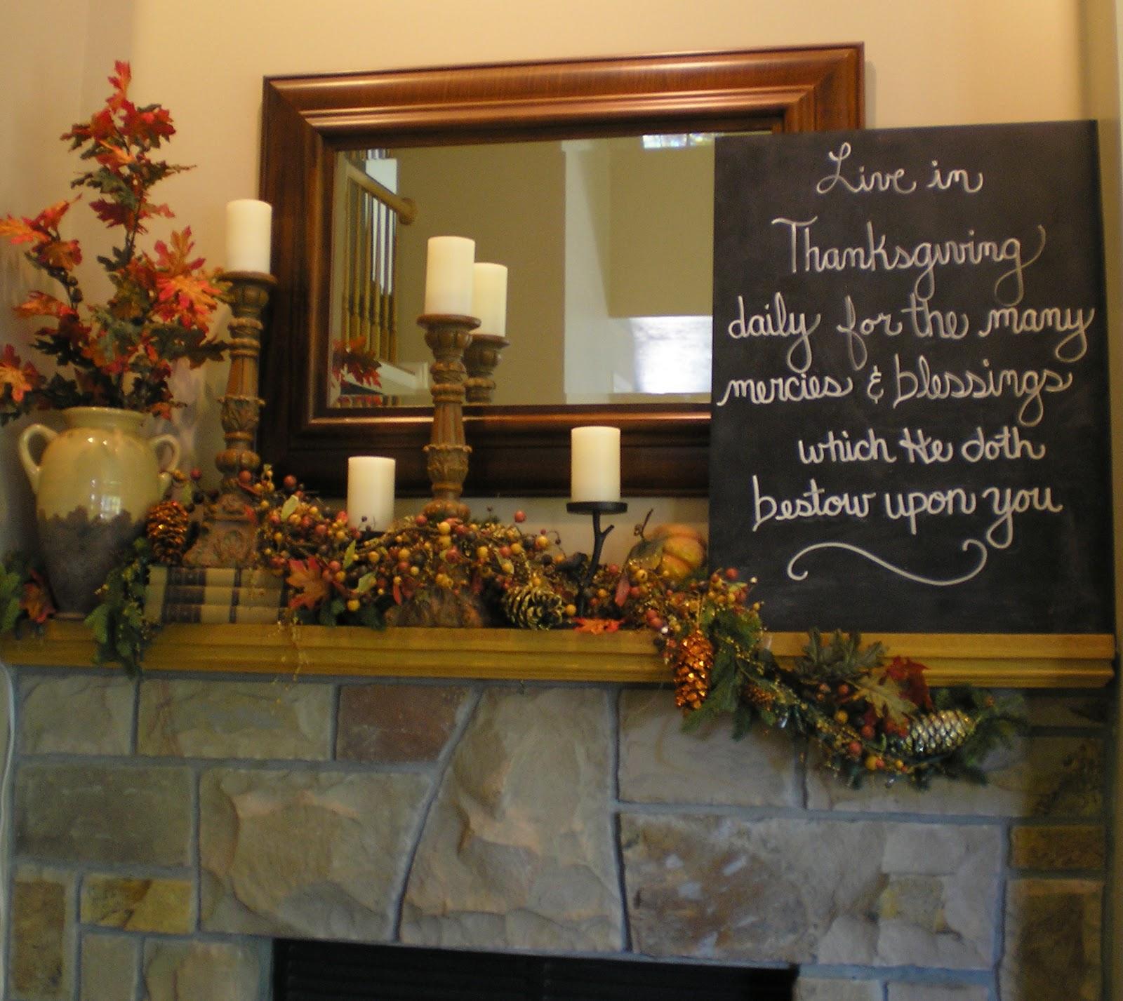 Honey I'm Home: Thanksgiving Decor