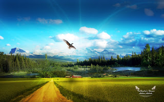Countryside Nature Wallpaper