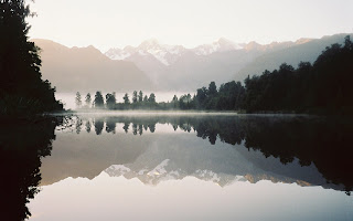 Lake Matheson Oconnor Nature Wallpaper