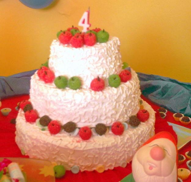 bolos decorados infantil