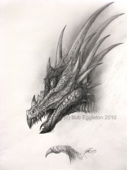 Easy Dragon Head Drawings