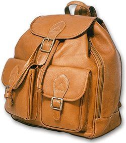 David King Leather Backpack
