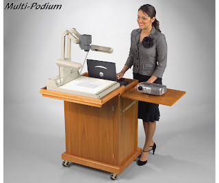Multi-Podium Lecterns & Speaker Stands by Balt, Inc