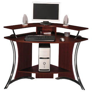 Corner Computer Desk<br /> by Bush