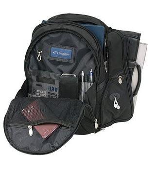 Fabric Laptop Backpack from McKlein