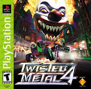 capa Twisted Metal 4 | PS1 | NTSC