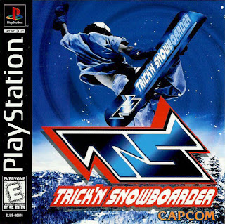 capa Trickn Snowboarder   PS1