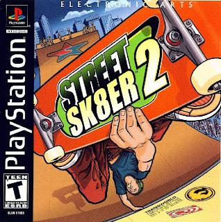 Street+Sk8er+2 Street Sk8er 2   PS1