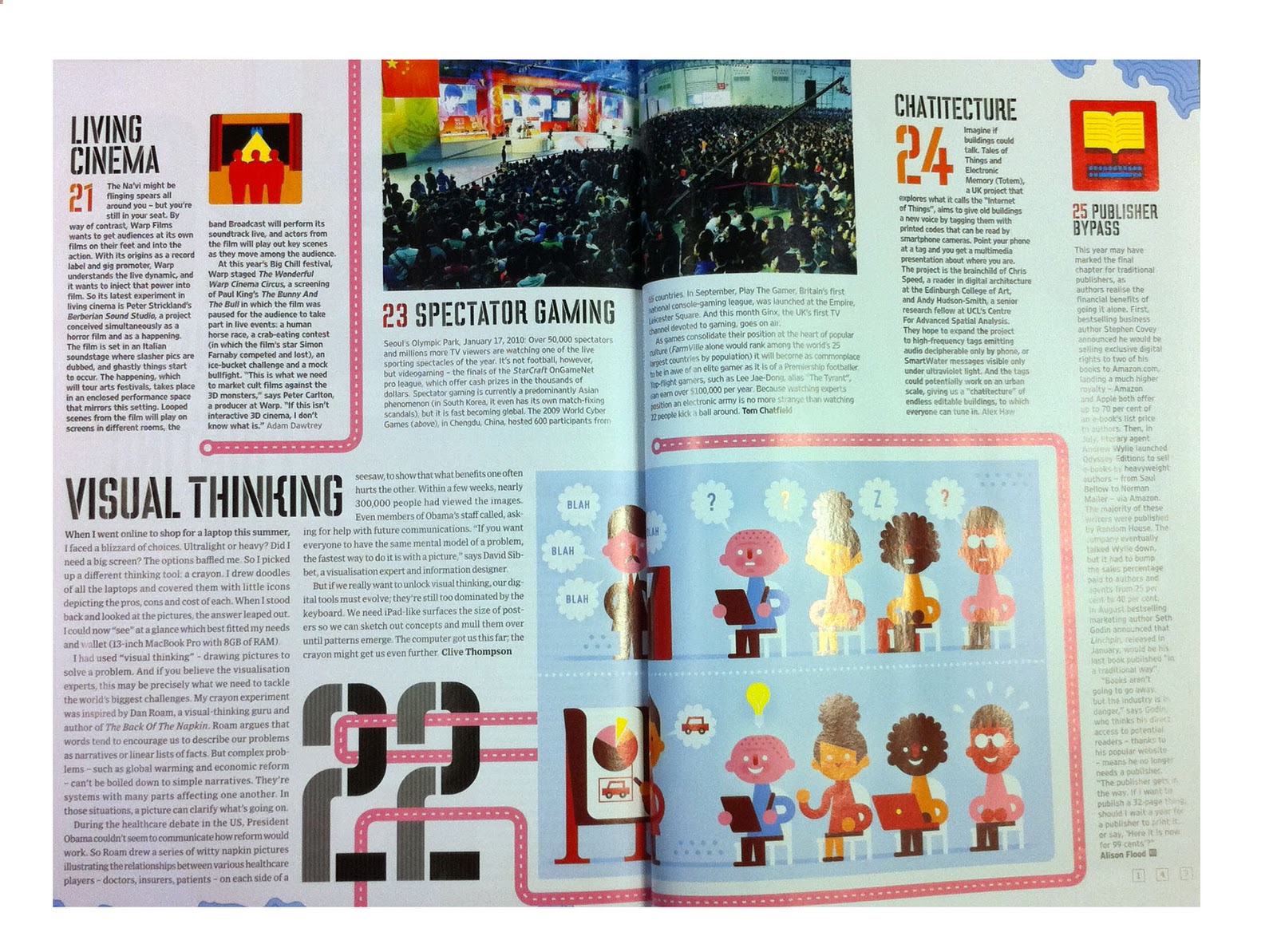 Wired Big Ideas for 2011: Chatitecture – Talking Buildings   digital ...