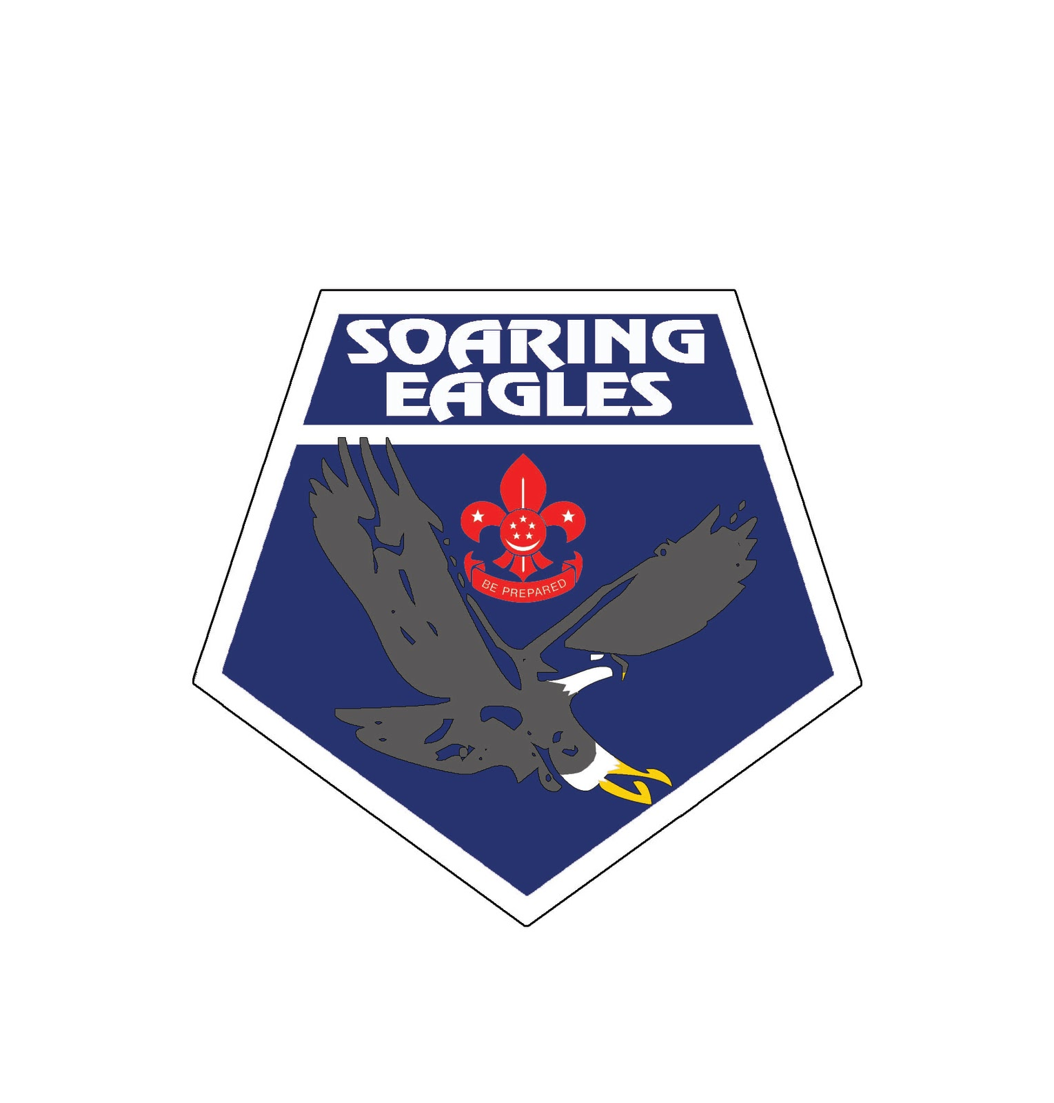 eagle scout logo cake ideas and designs
