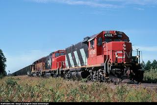 CN Train at Trout Lake