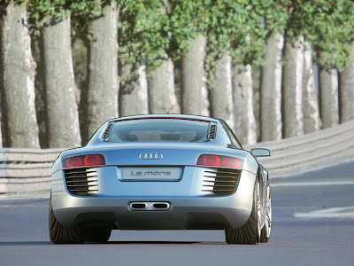 Audi R8 LE Mans Standard Resolution wallpaper 5