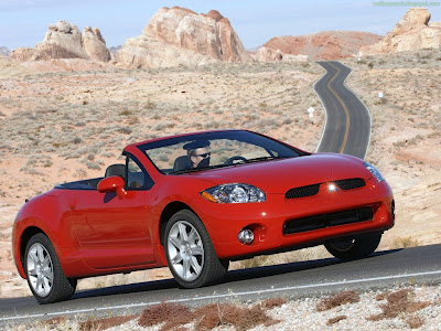 Mitsubishi Eclipse Spyder Standard Resolution Wallpaper 4