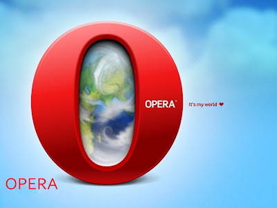Opera Internet Browser Standard Resolution Wallpaper