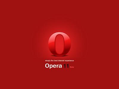 Opera 11 Standard Resolution Wallpaper