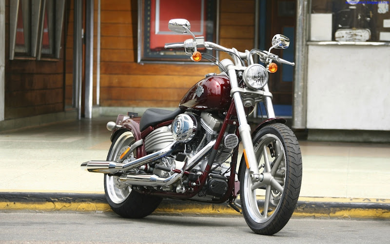 Harley Davidson Bike Widescreen Wallpaper 2
