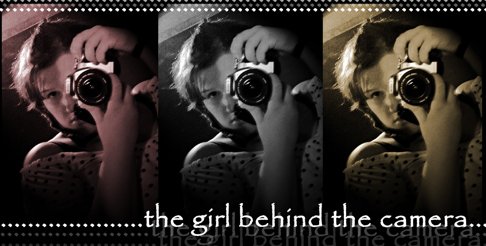 the girl behind the camera