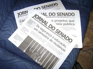 Brinde Gratis Jornal do Senado