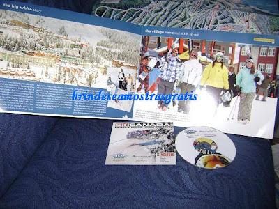 Brinde Gratis DVD e Catálogo sobre Sky Canadá