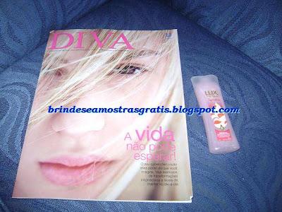 Brinde Gratis Revista Diva da Unilever