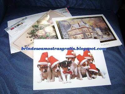 Amostra Gratis Cartões de Natal Design Crafters