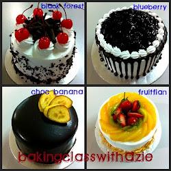 Class Continental Cake Part 1 -RM250