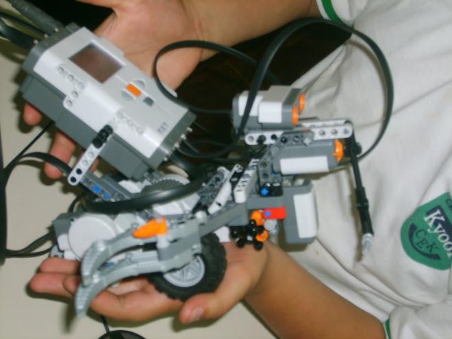 robot tomador