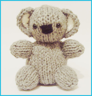 Free Toy Knitting Patterns Only : Knitted Toy Box: Koala Baby