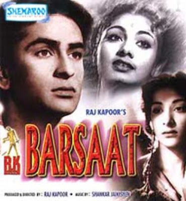 Barsaat (1949) SL YT BW - Nargis, Raj Kapoor, Prem Nath.