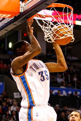 Kevin Durant 35 dunk