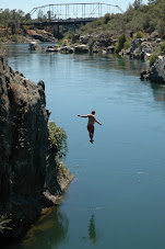 Cliff Jumpin on the American River
