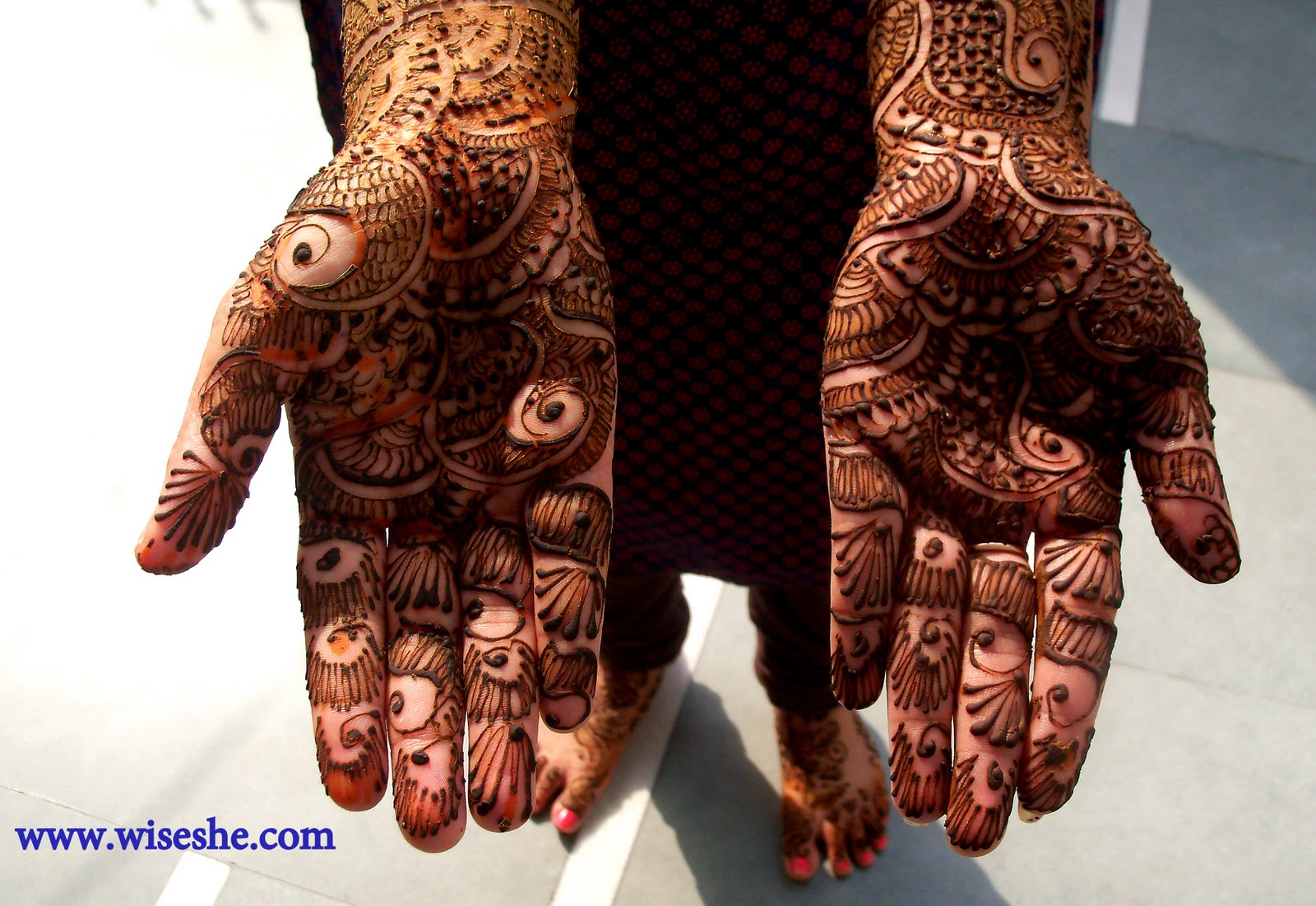 My Mehndi Design This Karva Chauth