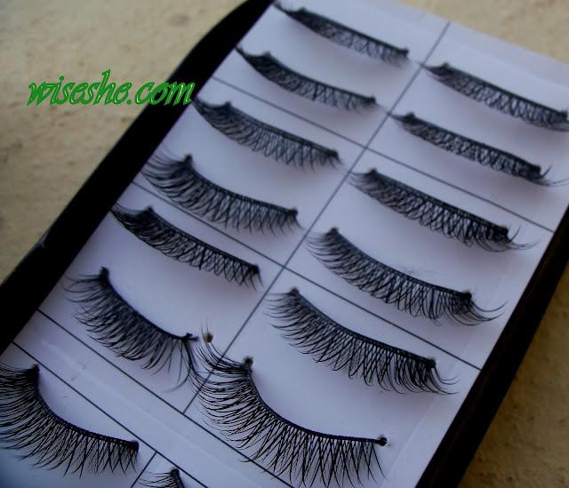false thick eyelashes