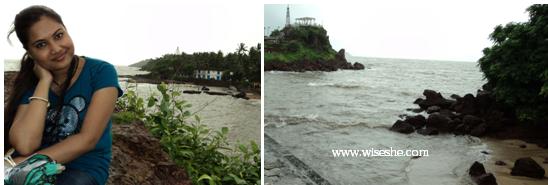 Dona Paula Beach in Goa