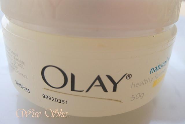 Olay Nautral white cream